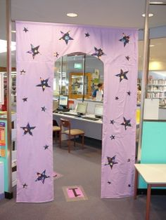 Book Week library display - back