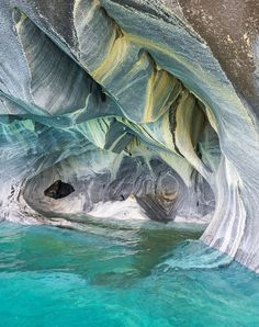 Marble Caves at General Carrera Lake: Chile