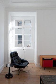 Renovating Art Nouveau Building in Lisbon | Home / minimalist