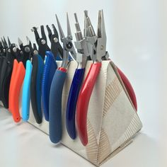 My version of a DIY plier caddy tutorial.