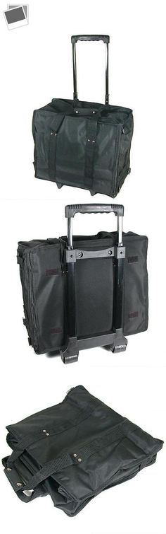 Other Jewelry Holders 168166: Jewelry Display Black Carrying Case W/ Wheels And Handle -> BUY IT NOW ONLY: $32.39 on eBay!