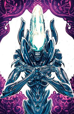 Dark Horse Comics have announced a new comic book series based on Fox's Alien franchise. Aliens: Dust to Dust Cover by Gabriel HardmanMaster [. Alien Vs Predator, Predator Movie, Ufo, Alien Film, Alien Convenant, Dark Horse Comics, Science Fiction, Giger Alien, Profile Wallpaper