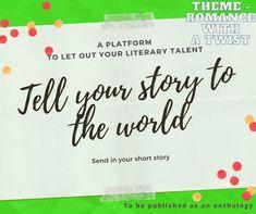Everything Goes, Trivia, Short Stories, To Tell, Romance, Let It Be, Books, Romance Film, Romances
