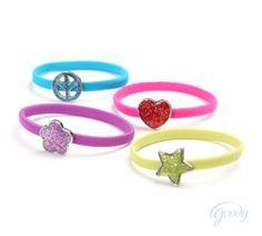 NEW DoubleWear with glitter charms! Style, Convenience, Sparkle, Shine and Shimmer!
