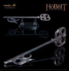 Der Hobbit Smaugs Einöde Replik 1/1 Schlüssel zum Düsterwald 19 cm