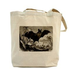 Bat Tote Bag by cutebats