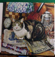 "Masterpieces puzzle--""Tiffany"" by Geoffrey Tristram"