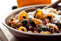 Orecchiette With Cherry Tomatoes and Arugula Recipe - NYT Cooking