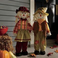 Scarecrow Children Halloween Sewing, Vintage Halloween, Halloween Crafts, Halloween Decorations, Halloween Party, Vintage Witch, Halloween Stuff, The Scarecrows Wedding, Autumn Display