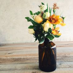 SnapWidget | Our lil' beaut with the first of the local cymbidiums!!! #farmgirlflowers #cagrown
