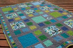 I like this quilt pattern.