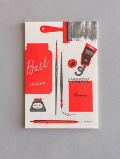 Good design makes me happy: Project Love: Tom Froese Stationery