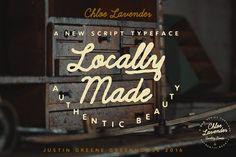 Chloe Lavender ~ Hand Drawn Script - Script - 3