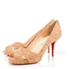Christian Louboutin replica Classics Cross-Strap Wood Shoes.Please click picture to buy and get more detail.