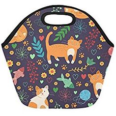 c7328ce96277 64 Best Cat Lunch Bags images in 2018 | Lunch containers, Lunch bags ...