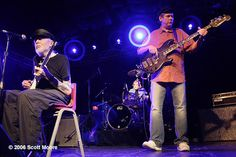 The original Texas blues power trio:  Johnny Winter, Uncle John Turner, and Tommy Shannon (here reunited in 2006). They killed on Winter's self-titled album, and at the Texas International Pop Festival, Labor Day 1969.  I personally saw Winter point to the soundman on a scaffold in the audience and raise 10 fingers.  Deafening and wonderful.