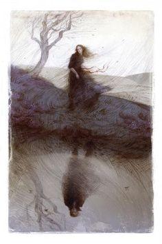 Wuthering Heights by 2015 V&A Illustration Awards entrant Rovina Cai. #art #illustration