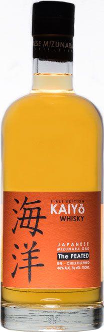 KAIYO THE PEATED Japanese Single Malt Whisky. 46%   70cl   CHF 129.00 Whisky Japan Shop Online   FiGee Fine Goods Japanese Singles, Japanese Whisky, Japan Shop, Single Malt Whisky, Osaka Japan, Wood Grain, Delicate, Chf, 3 Months