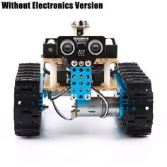 DIY Starter Robot kit - Premium Quality - STEM Education - Programmable Robot Kit for Kids to Learn Coding, Robotics and Electronics (IR Version) - Technologie - Build A Robot, Diy Robot, Arduino Programming, Programming For Kids, Robot Kits For Kids, Learn Robotics, Programmable Robot, Industrial Robotic Arm, Simple Arduino Projects