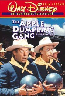 The Apple Dumpling Gang Rides Again. Directed by Vincent McEveety. Production: (Writer) Don Tait; Starred: Don Knotts, Tim Conway, Kenneth Mars, Elyssa Davalos, Tim Matheson. Disney Movies Anywhere, Walt Disney Movies, Classic Disney Movies, Disney Movie Posters, Walt Disney Pictures, Disney Live, Disney Stuff, All Movies, Family Movies