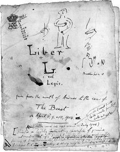 Cover Page / 0-0 - Liber L vel Legis sub figurâ XXXI - Liber Legis — The Book of the Law - Hermetic Library