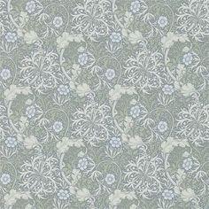 Morris Seaweed tapeter från William Morris® (WM168-04) hos Engelska Tapetmagasinet. ✓ Beställ fraktfritt online ✓ Snabb leverans