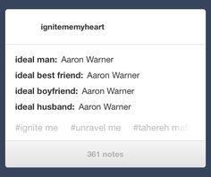 Aaron Warner<3