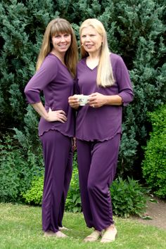 Claire Pajamas. Our Newest Style in Aubergine. http://www.haralee.com/shop-here.html?page=shop.product_details&flypage=flypage.tpl&product_id=85&category_id=2