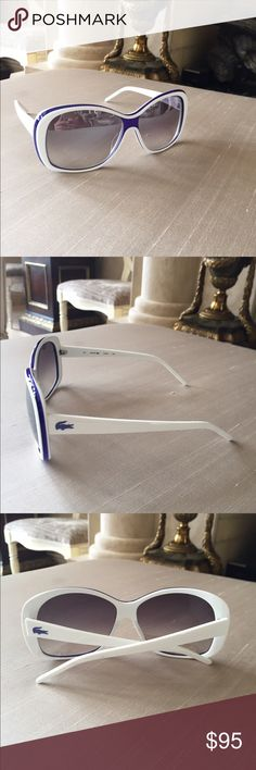 Lacoste Sunglasses Brand new with no tags! Doesn't come with a case Lacoste Accessories Glasses