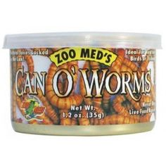 Medium sized meal-worms great for reptiles.