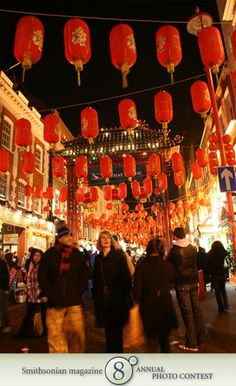 "Photo of the Day - January 23, 2012: ""Enjoying Chinese New Year in Chinatown, London."" Taken by Sm Berry (Brighton, MA). Photographed February 2009, Chinatown, London, England."