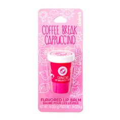 Coffee Break Cappuccino Flavored Lip Balm PS I have this lip balm and it's totally amazing have to buy it