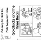 Goldilocks and the Three Bears story sequencing sheets