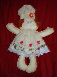 Resultado de imagem para como fazer boneca de pano a mão
