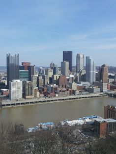 Pittsburgh Skyline Pittsburgh Skyline, Pittsburgh Pa, Fleming Island, City Skylines, City Scapes, Aerial View, Newcastle, Amazing Places, Bridges