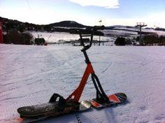 Snowscoot à Super Besse