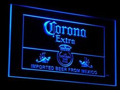 Corona Beer LED Neon Sign On/Off Switch home Bar Pub Club Room decor hanging sign mens gift