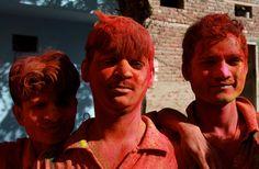 https://flic.kr/p/99FX3Z | la fête des couleurs pour tous, Inde, India, Rajasthan (Philippe Guy)