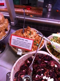 Best Quinoa salad! Must try to figure this one out!