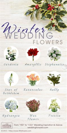 Stunning Winter Wedding Bouquets ❤ See more: http://www.weddingforward.com/winter-wedding-bouquets/ #weddings