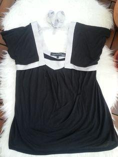 Prodám krásné elegantní černé tričko se saténovou mašlí. Měla jsem ho párkrát na sobě, takže super stav. Je ze strašně pří...