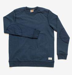 HUH. Store: Carhartt - Navy Military Sweatshirt