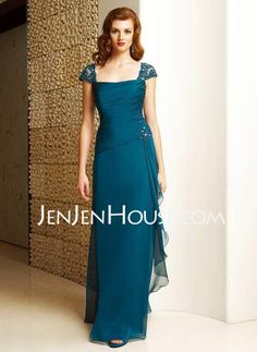 Mother of the Bride Dresses - $162.39 - A-Line/Princess Strapless Floor-Length Chiffon  Charmeuse Mother of the Bride Dresses With Ruffle  Lace  Beading (008006222) http://jenjenhouse.com/A-line-Princess-Strapless-Floor-length-Chiffon--Charmeuse-Mother-Of-The-Bride-Dresses-With-Ruffle--Lace--Beading-008006222-g6222