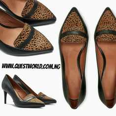 Next Animal Leather Pointed Loafers Shoes size 7/41 #20000 www.questworld.com.ng Pay on delivery in Lagos. Nationwide Delivery