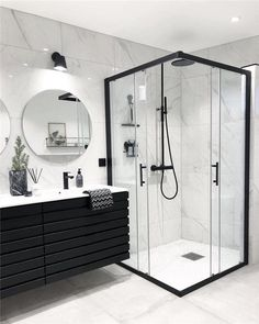 Most popular ways to elegant bathroom design trends 26 – fugar Modern Luxury Bathroom, Bathroom Design Luxury, Minimalist Bathroom, Modern Bathroom Design, Modern Bathrooms, Small Bathrooms, Bathroom Goals, Bathroom Layout, Bathroom Ideas