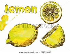 Vector - Sour Pucker Face Lemon Cartoon Character - Google Search