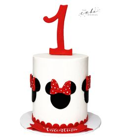 Minnie Mouse Buttercream smash cake for a first birthday. Call or email to order your celebration cake today. Disney Themed Cakes, Cakes Today, Cupcake Wars, Minnie Mouse Party, Celebration Cakes, Custom Cakes, Cake Smash, Food Network Recipes, First Birthdays