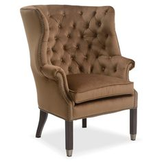 Living Room Furniture   Cranston Accent Chair   Sable