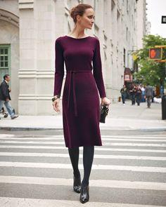 cashmere purple dress