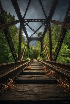 Abandoned Storms by ryanshanahan Places Around The World, In This World, Around The Worlds, Beautiful Buildings, Beautiful Places, Beautiful Pictures, Abandoned Train, Abandoned Places, Railroad Photography